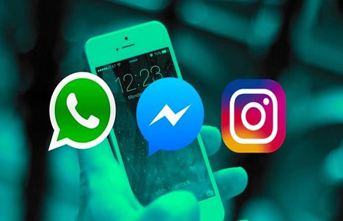 Facebook integraría a Messenger, Whatsapp e Instagram. Foto: Twitter