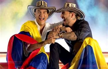 Maluma y Silvestre Dangond estrenan 'Vivir bailando'