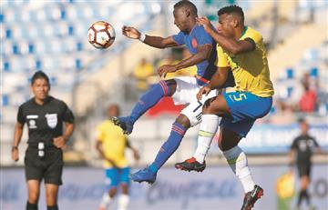 Selección Colombia: La 'tricolor' se quedó con un amargo empate ante Brasil