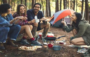 Tips para cocinar mientras acampas