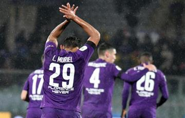 [VIDEO] ¡Golazo! Así fue la anotación de Muriel en la goleada de Fiorentina a Roma