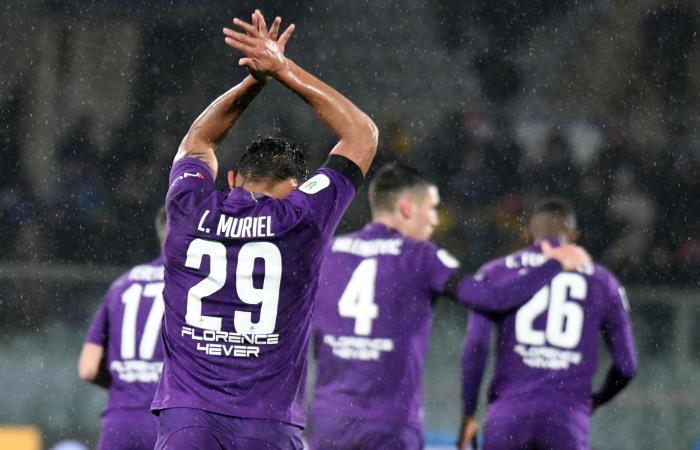 Muriel celebra su gol ante Roma. Foto: EFE