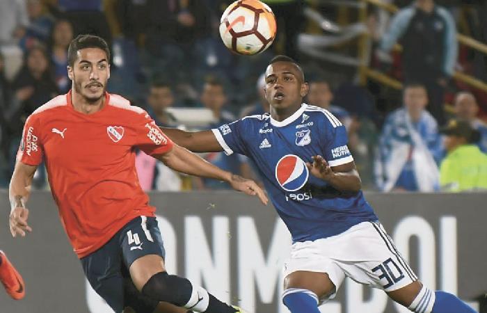 Juan Camilo Salazar podría salir de Millonarios hacia San Lorenzo