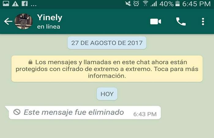 ¿Cómo recuperar los mensajes eliminados de WhatsApp?