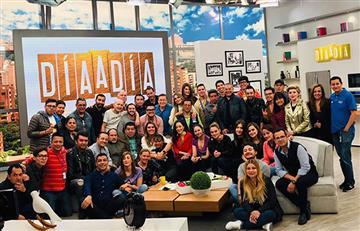 La triste despedida de Mónica Rodríguez y Mauricio Vélez de 'Día a Día'