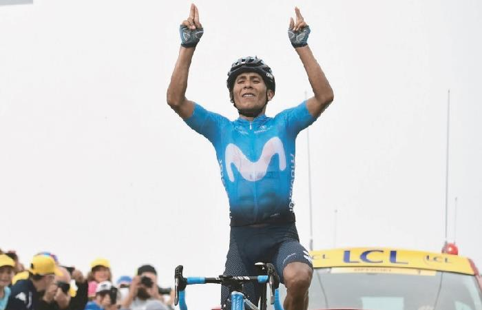 Nairo viajará de Argentina a Colombia para el Tour 2.1. Foto: AFP