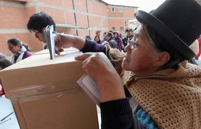 Solo un tercio de los militantes habilitados votó en las elecciones primarias