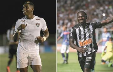[VIDEO] Yony González y Chará inflaron las redes del fútbol brasileño