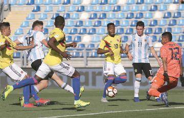 Selección Colombia: La 'tricolor' sigue sin marcar y cayó ante Argentina