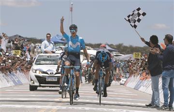 Vuelta a San Juan: Winner Anacona gana la quinta etapa y es el nuevo líder