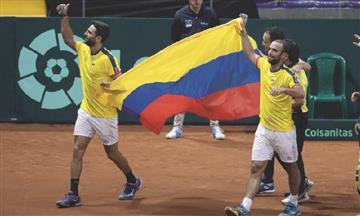 [VIDEO] ¡Histórico! Por primera vez Colombia clasifica a las finales de la Copa Davis