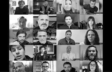 Juanes y más artistas se unen para dar una voz de aliento a 'resistir' contra Maduro