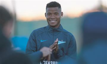 [VIDEO] Wilmar Barrios ya viste la camiseta de Zenit