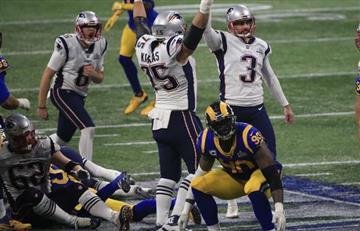 Patriotas, campeones del Super Bowl 53