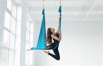 Yoga aéreo y otras divertidas formas de ejercitarte