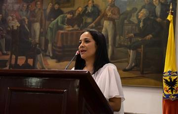 """¿Otra """"borracha""""? La grabación que probaría que concejala de Bogotá no estaba en """"sano juicio"""""""