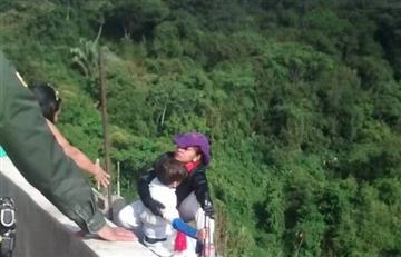 Madre e hijo perdieron la vida al lanzarse de un puente