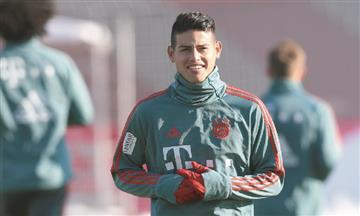 ¡Se queda! James seguirá en Bayern