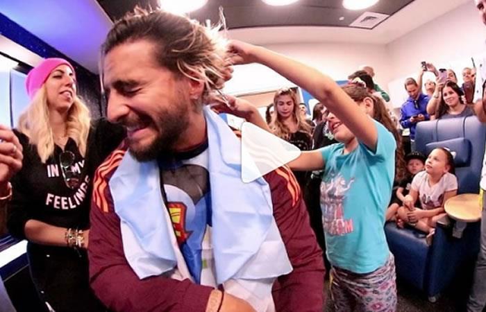 Maluma sorprendió con gesto por el Día del Cáncer