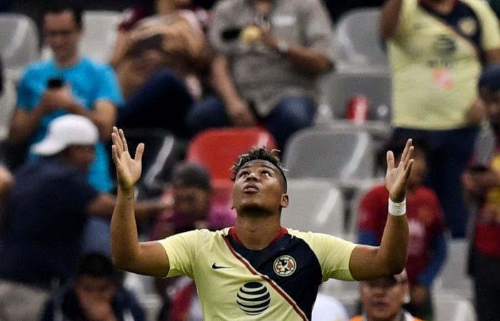 Roger Martínez sigue destacándose en América de México. Foto: AFP