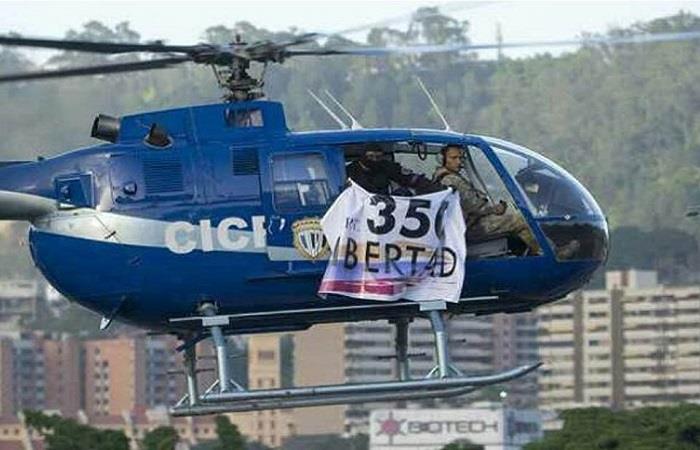 Policía Óscar Pérez, abatido el 15 de enero de 2018. Foto: Twitter