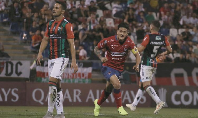 Copa Libertadores: Independiente Medellín empató ante Palestino en su debut [VIDEO]
