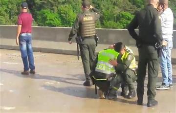 ¿Por qué se lanzó la mujer del puente 'La Variante', en Ibagué?