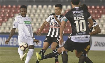 [VIDEO] Once Caldas igualó con Santaní en su debut por Copa Sudamericana