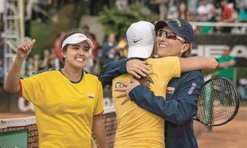 Nuestras tenistas colombianas buscarán la permanencia ante Puerto Rico en la Fed Cup