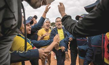 Nuestras tenistas colombianas vencieron a Puerto Rico y se mantienen en el Grupo l