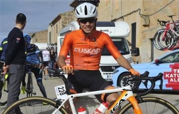 Colombiano fue el mejor joven en Vuelta a la Comunidad Valenciana