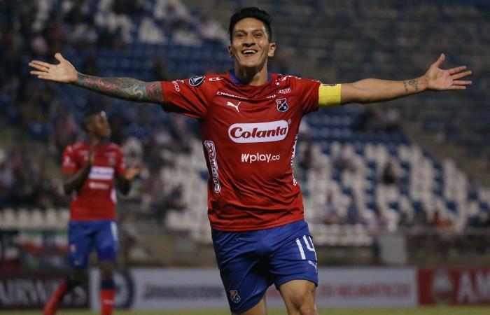 Germán Cano se convierte en el goleador histórico de Independiente Medellín