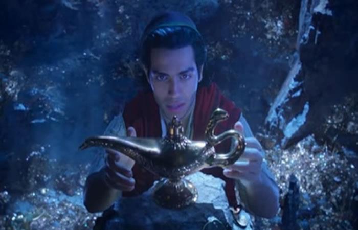 Mira cómo luce Will Smith en su papel de 'Genio' en 'Aladdin'