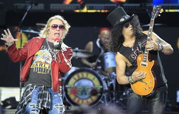 ¡Vuelven con todo! Guns N' Roses grabará nuevo disco en agosto