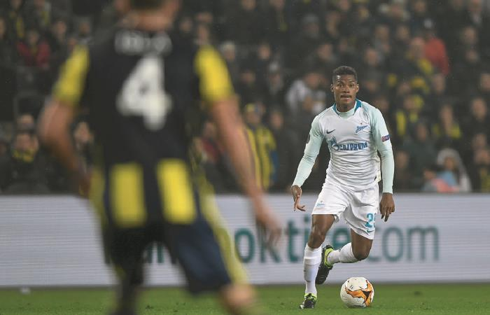 Europa League: Wilmar Barrios debutó en la derrota de Zenit