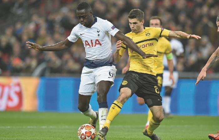 Champions League: Davinson Sánchez fue titular en la goleada de Tottenham a Borussia Dortmund [VIDEO]