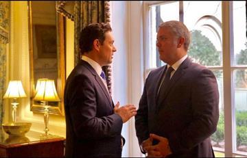 ¿De qué hablaron Duque y el embajador de Guaidó en Estados Unidos?