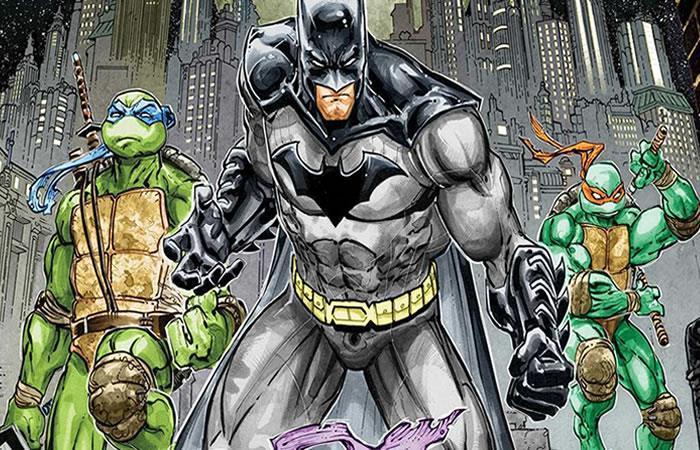 ¿Batman vs. las Tortugas Ninja? ¡Sí es posible!