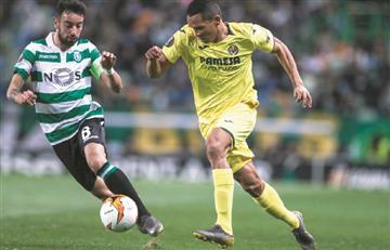 Villarreal con Carlos Bacca ganó en la Europa League