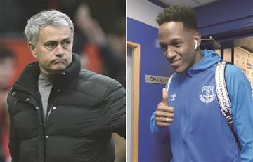¿Mourinho será el nuevo DT de Yerry Mina?