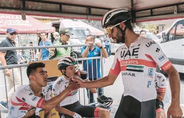 ¡Triste! Fernando Gaviria es el primer colombiano en abandonar el Tour Colombia 2.1