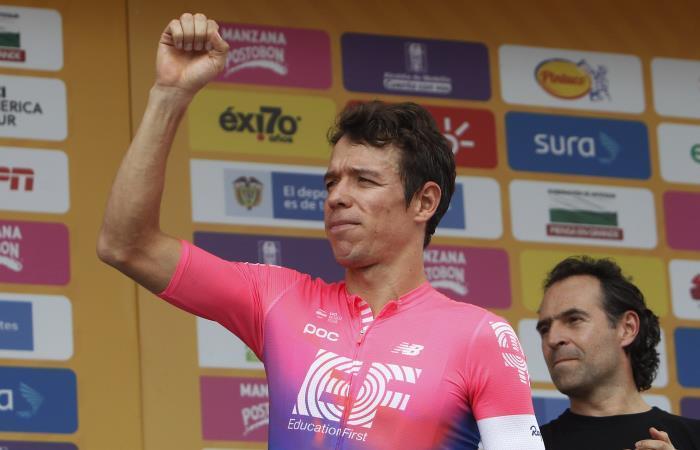 Tour Colombia: Juan Sebastián Molano gana la etapa y Rigo es nuevo líder
