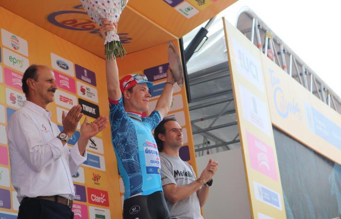 Tour Colombia 2.1: Bob Jungels es el ganador de la cuarta etapa y el nuevo líder [VIDEO]