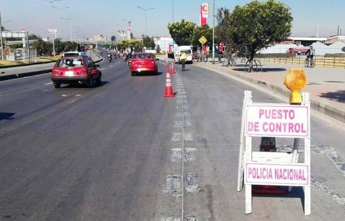 Pico y Placa por contaminación ambiental ha afectado la movilidad positivamente. Foto: Twitter