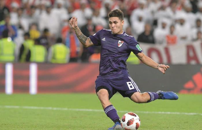 Juan Fernando Quintero ha marcado dos golazos en menos de 1 semana. Foto: AFP