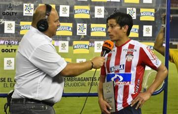 ¿Exagerado? Matías Fernández fue elegido 'jugador del partido' en debut con Junior