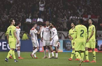 Con Jeison Murillo de suplente, Barcelona empató ante Lyon de visitante