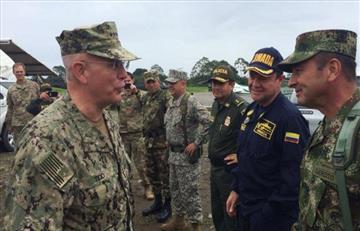 Jefes militares de Colombia y EE.UU. hablarán sobre colaboración norteamericana en la región