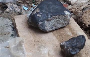 Investigadores advierten de radiactividad de trozos de meteorito caído