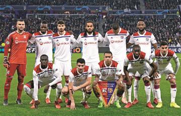 ¡Increíble! La triste historia de los jugadores de Lyon al finalizar el partido ante Barcelona